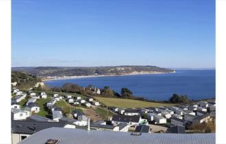 landscape view of beer village