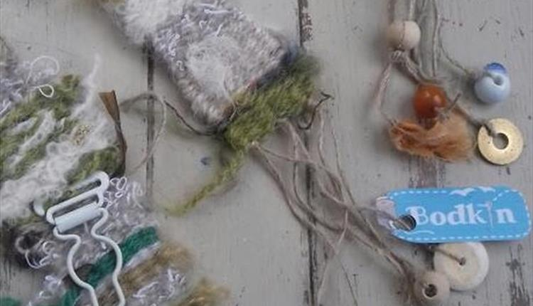 Wild Weaving Decorations / Brooches