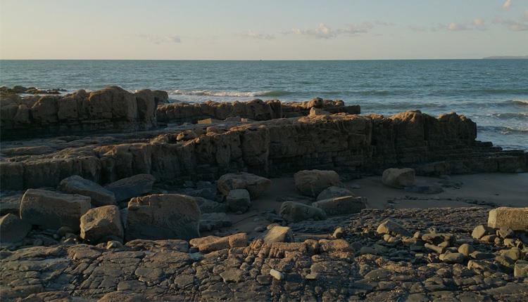 Bucks Mills Beach