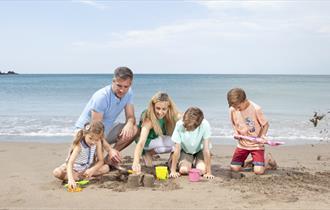 Family beach activities