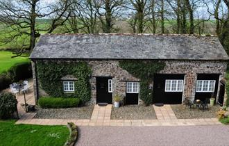 cloister park cottage outside
