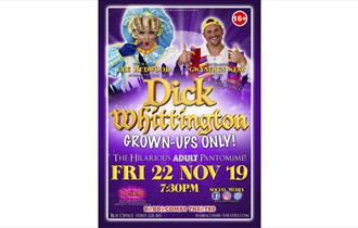Dick Whittington – Adult Pantomime at Babbacombe Theatre