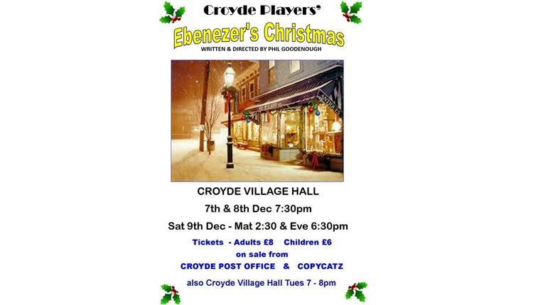 Croyde Players' Ebeneezer's Christmas