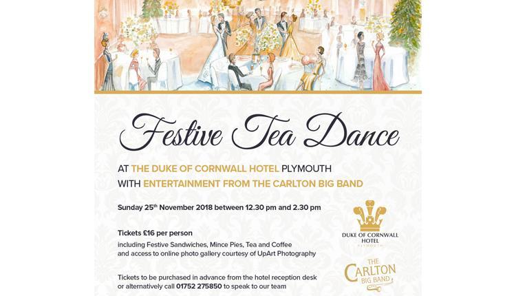 Festive Tea Dance at The Duke of Cornwall