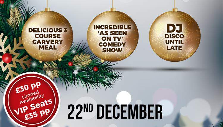 Torquay Comedy Club Christmas Party