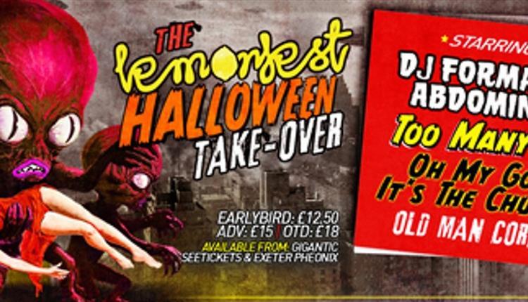 Exeter Phoenix - Lemonfest Halloween Takeover With DJ Format & Abdominal