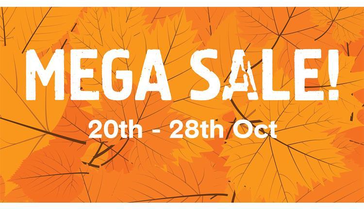 October Mega Sale at Dartington Crystal