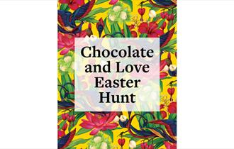 logo for RHS Rosemoor's chocolate and love easter hunt