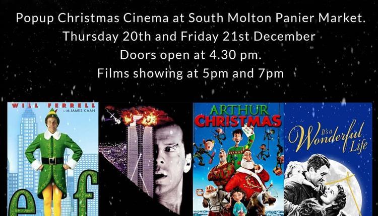 Festive Films come to South Molton Pannier Market