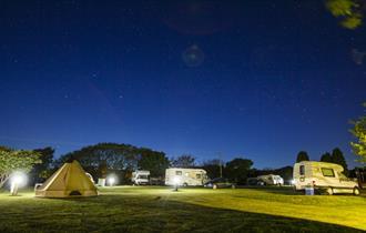 starry night at Slapton Sands