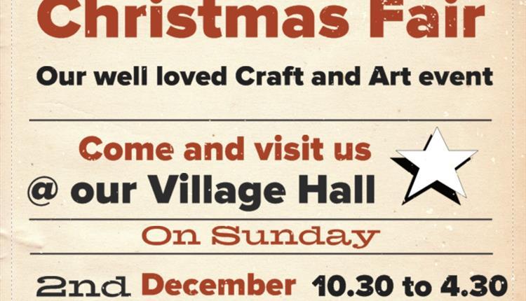 Harbertonford's Christmas Crtaft and Art Fair