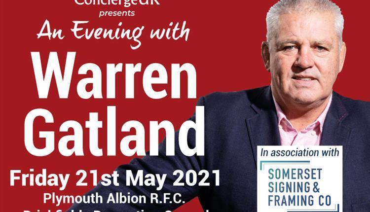 An evening with Warren Gatland
