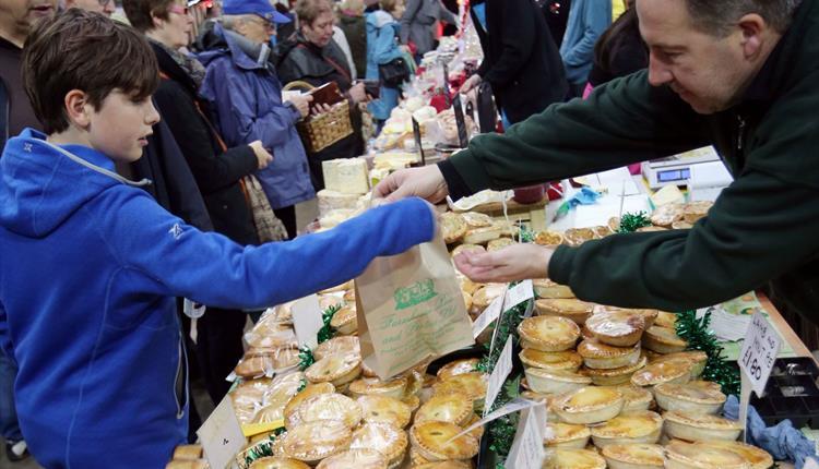 Christmas Market at The Big Sheep
