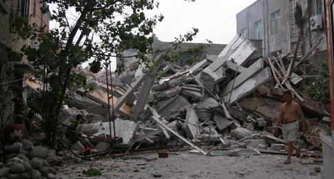Post earthquake reconstruction