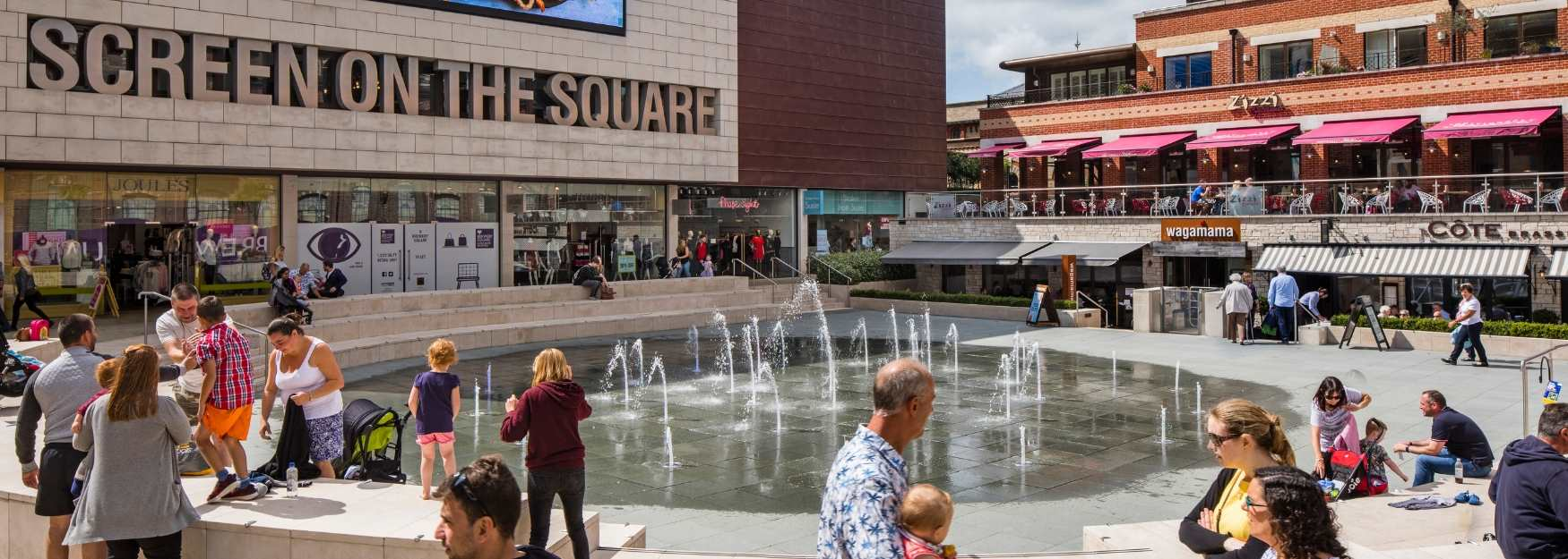 Summer fun at Brewery Square in Dorchester