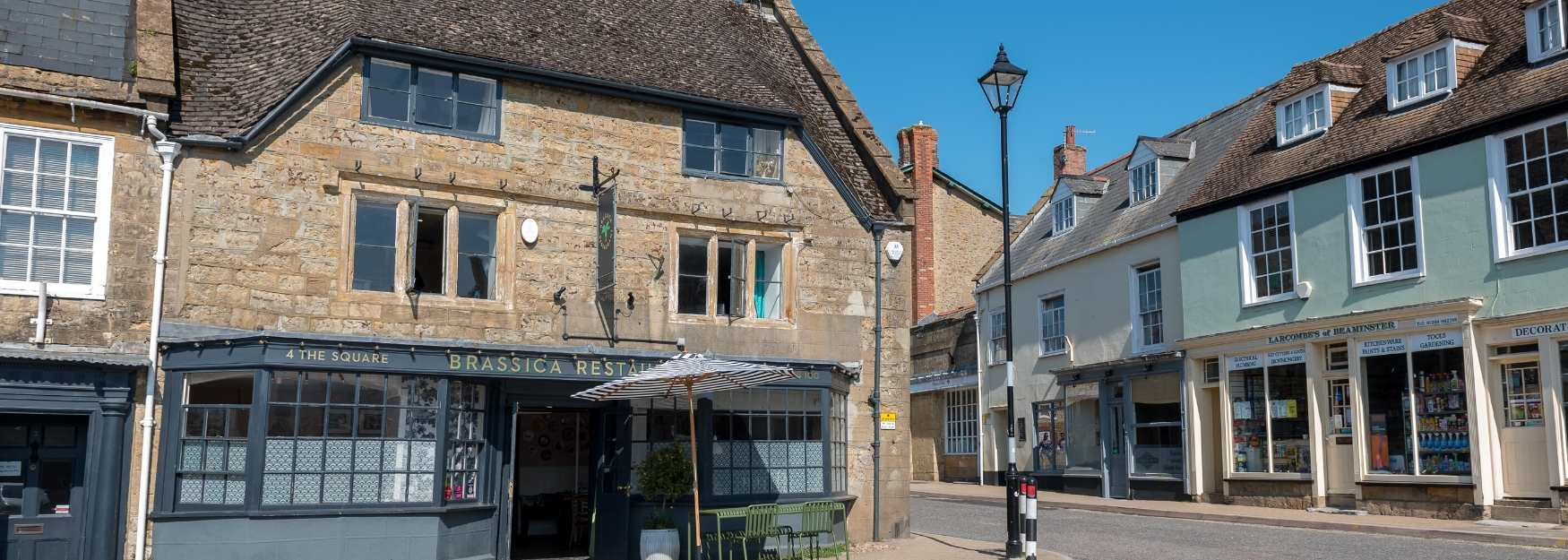The pretty market town of Beaminster © Paul Smith
