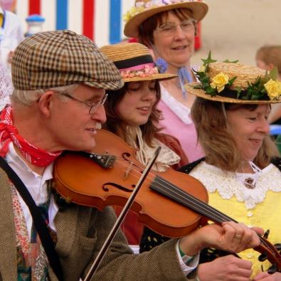 Musical entertainment at Dorset festival