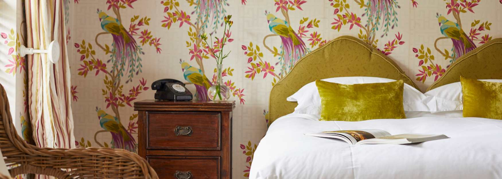 Comfortable and stylish rooms at the Ollerod