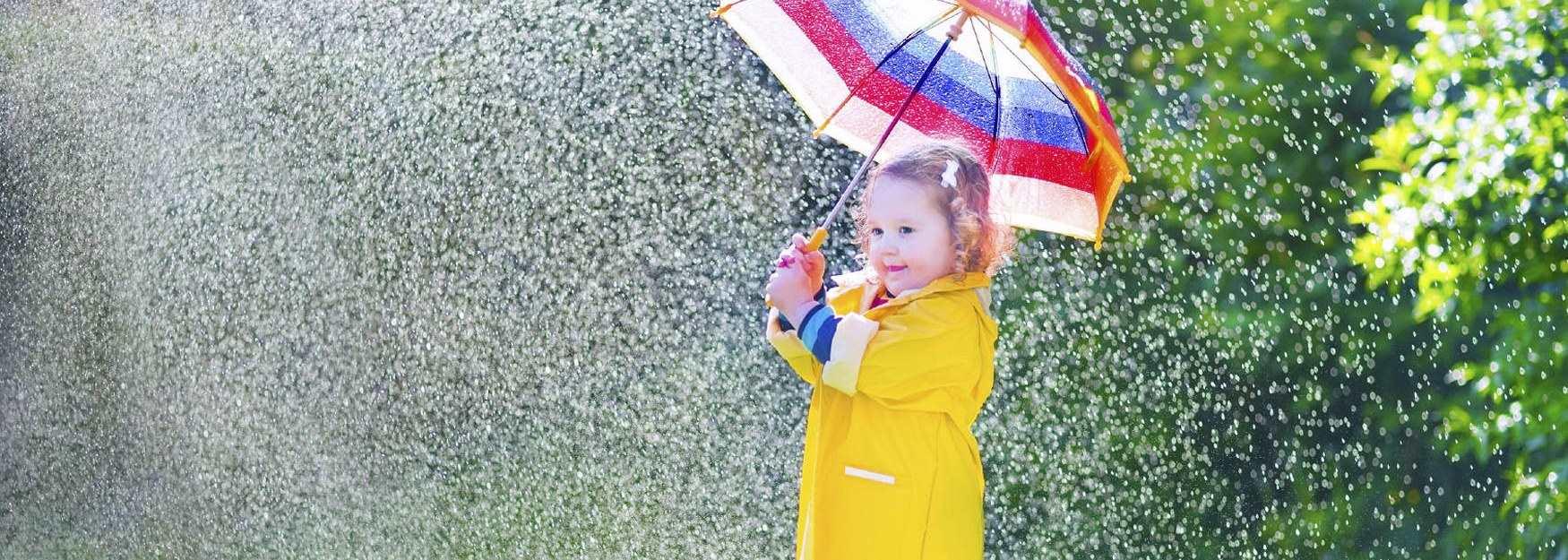 Wet weather fun in Dorset