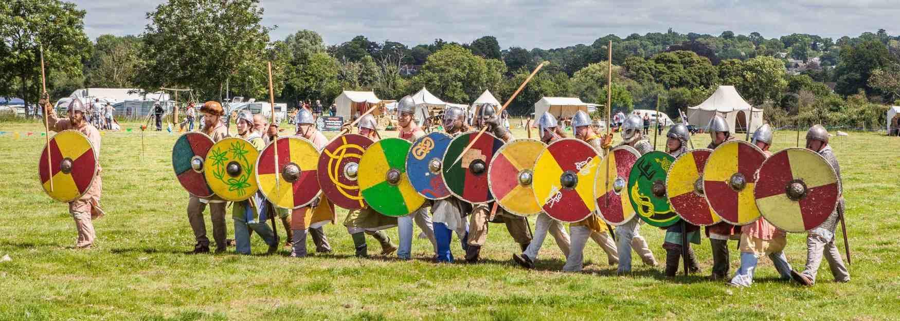 Viking charge © Paul Thackeray