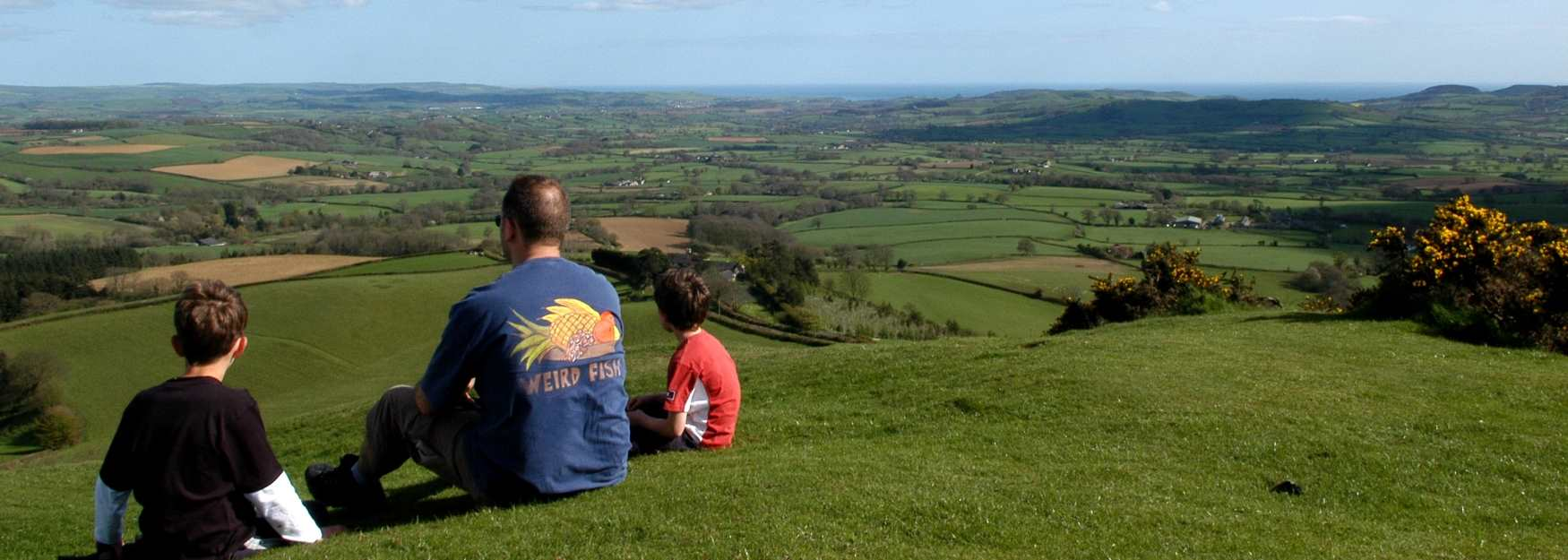 Sit back and admire the glorious West Dorset view