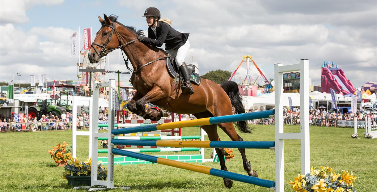 Show jumping, Dorset County Show