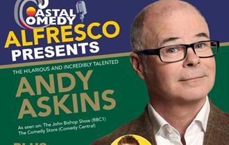 andy askins, standup, comedy, entertainment, live, show, gig, coastal comedy,