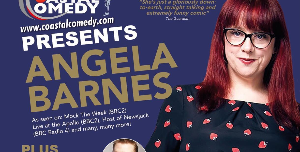 Angela Barnes, standup, comedy, entertainment, live, show, gig, coastal comedy,
