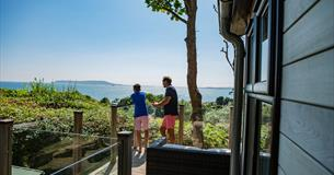 Sea Views from Osmington Lodge Park, Dorset