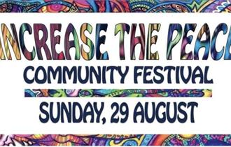 Increase The Peace event poster