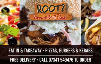 ROOTZ - Pizzas, Burgers & Kebabs @TheBotanyBay