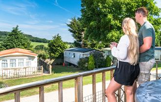 Countryside views Andrewshayes Holiday Park - visit-dorset.com
