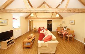 Barnes cottage, open plan, single storey barn conversion at Ellwood Cottages - Visit Dorset