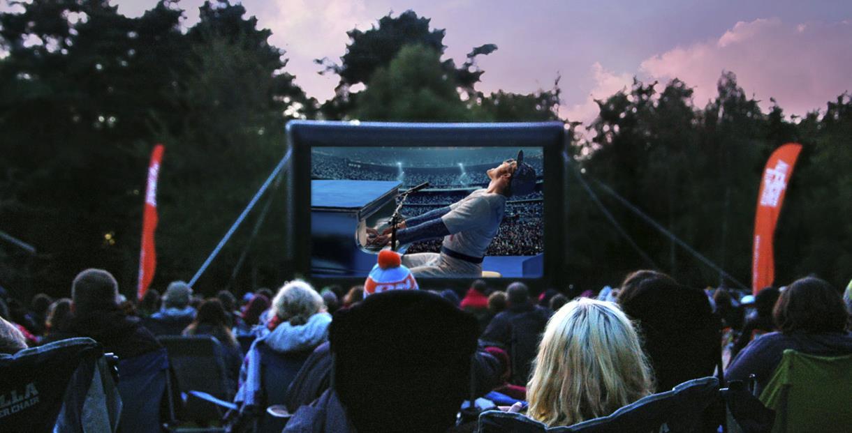 Open Air Cinema screening of Rocketman