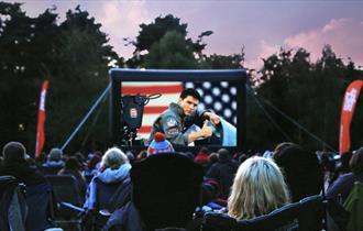 Open Air Cinema screening of Top Gun