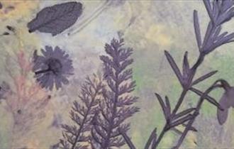 clay botanical tile