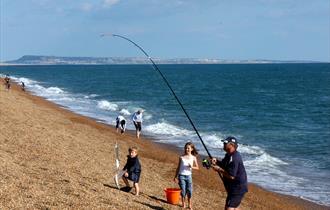 Chesil Beach fishing