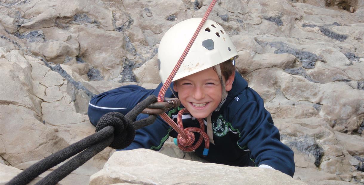 Brenscombe Outdoor Centre - rock climbing