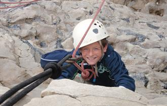Brenscombe Outdoor Centre - rock climbing