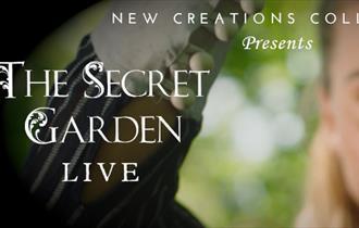 Ballet dancer holding the key to The Secret Garden