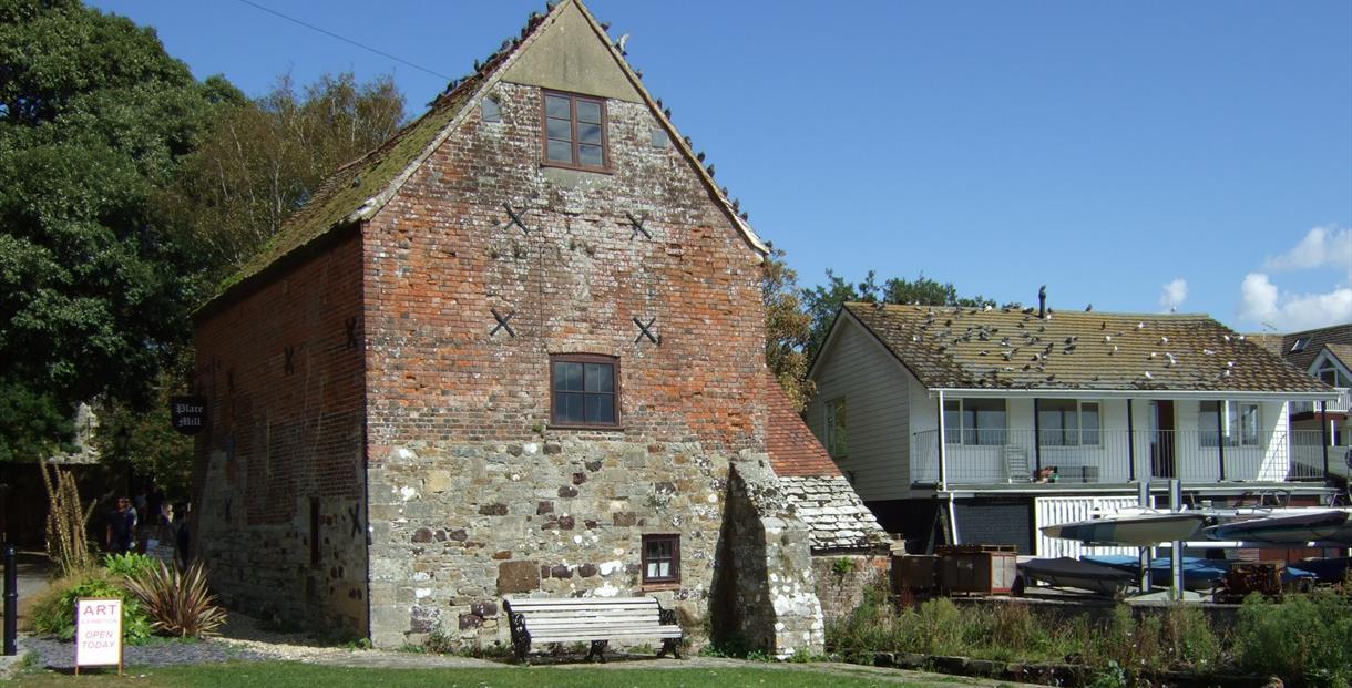 Place Mill at Christchurch Quay, Dorset