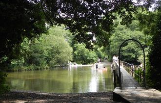 River Frome at Moreton, Dorset