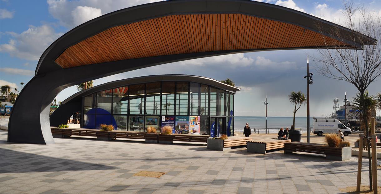 Tourist information centre exterior