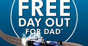 Father's Go Free this Father's Day Graphics
