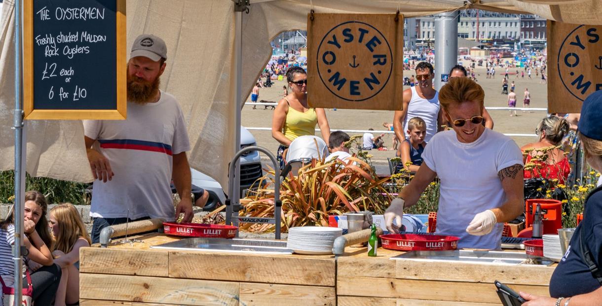 Nyetimber Dorset Seafood Festival chef demonstrations