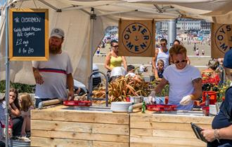 Nyetimber Dorset Seafood Festival chef demonstrations