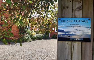 Outside Hillside Cottage