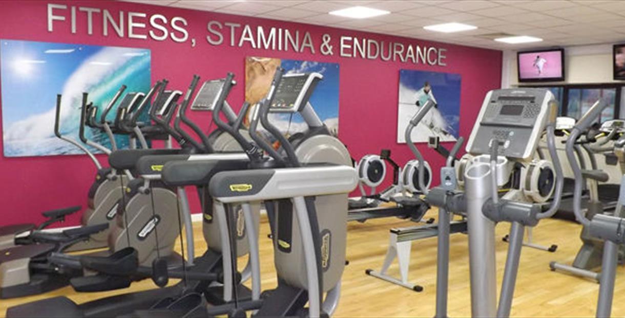 Two Riversmeet Leisure Complex gym, Christchurch