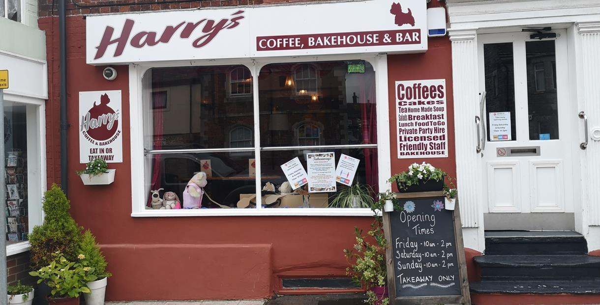 Harry's Bakehouse and Bar, Wareham in Dorset