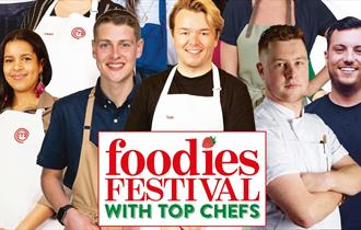 Chefs taking part in the Foodies series of festivals